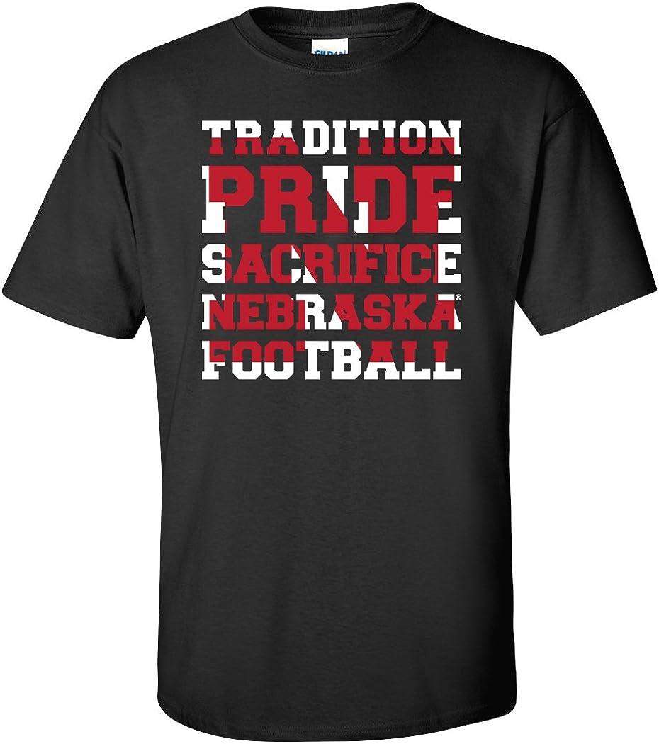 New latest color CornBorn Nebraska Tee Shirts Tshirts - Husker Tradition