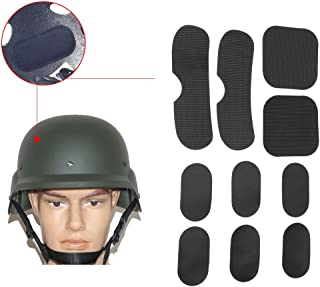 Filfeel 19pcs/setTactical Helmet Pads, Soft and Durable EVA Motorcycle Helmet Replacement Accessories