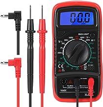 Multímetro Digital Automático, Polimetro Digital, Amperimétrica RMS, Voltímetro,Tester Digital, Medidor de Voltaje AC/DC c...