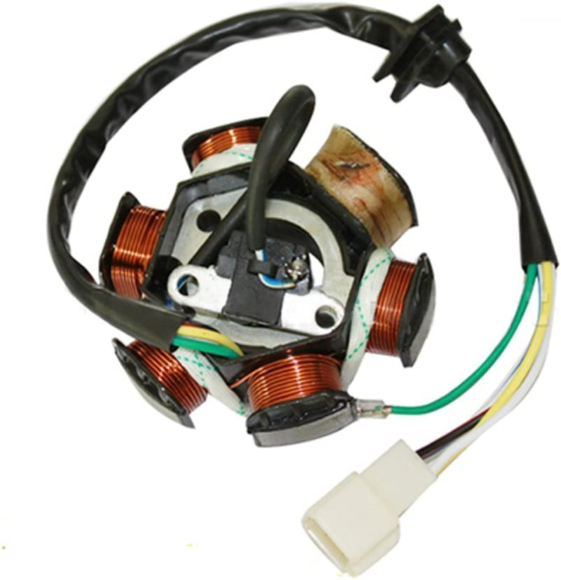 GOOFIT 6 Poles Popularity 5 Wires Half-Wave Stator Magneto Excellent Replace Ignition