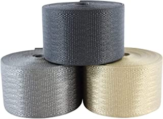 "SGT KNOTS Belt Webbing - Heavy Duty and 100% Polyester Straps for Cargo, Harnesses, Canoe Seats and Climbing Uses (2"" x 10..."