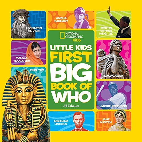 National Geographic Little Kids First Big Book of Who (Little Kids Big Book) by National Geographic Kids (2015-04-02)