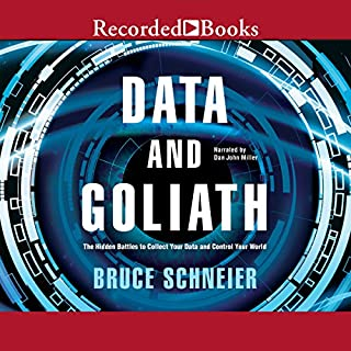 Data and Goliath audiobook cover art