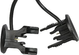 Sterno Home GL22352 Plastic Clip Connector, Black
