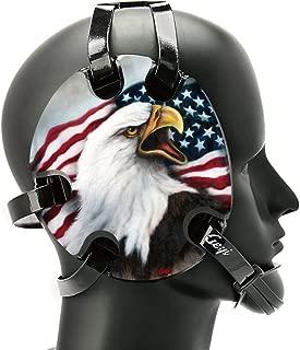 Geyi Wrestling Headgear with USA Bald Eagle Decals 1
