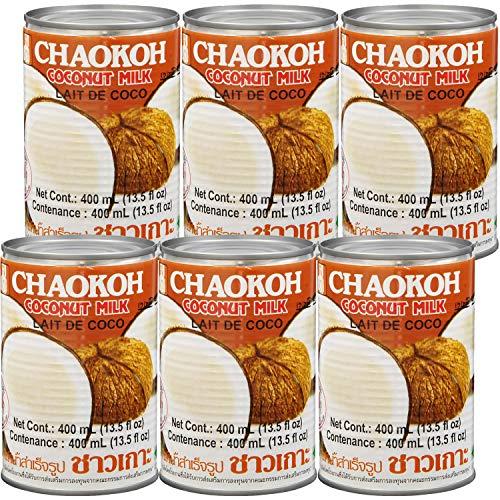 チャオコー ココナッツミルク 400ml ×6個