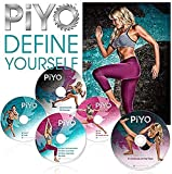 PiYo Chalene Johnson DVD,Pilates Yoga Workouts Fitness Program