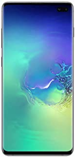 Samsung SM-G975F Galaxy S10+ 128GB SIM-Free Smartphone, Prism Green (Renewed)