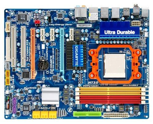 Gigabyte Mainboard GA-MA790X-UD3P (AM2+, DDRII, ATX)
