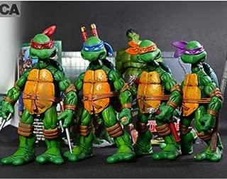 YWEIWEI Paquete De 4 Personajes: Leonardo Donatello ...