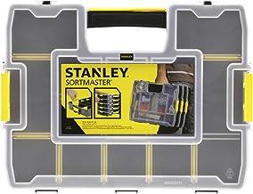 Stanley SortMaster 197483 Stapelbare Gereedschapskist (14 Individueel Verstelbare Vakken voor Kleine Onderdelen en Gereeds...