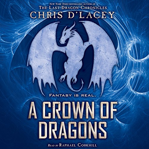 A Crown of Dragons audiobook cover art