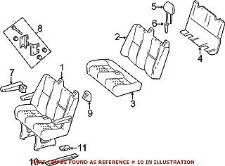 2006+ Planted SB029PA Volkswagen Passenger Side Seat Bracket