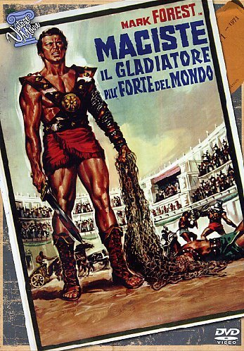 Maciste Il Gladiatore Piu' Forte Del Mondo by scilla gabel