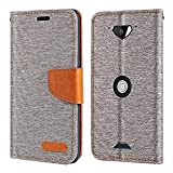 Crosscall Core X3 Case, Oxford Leather Wallet Case with