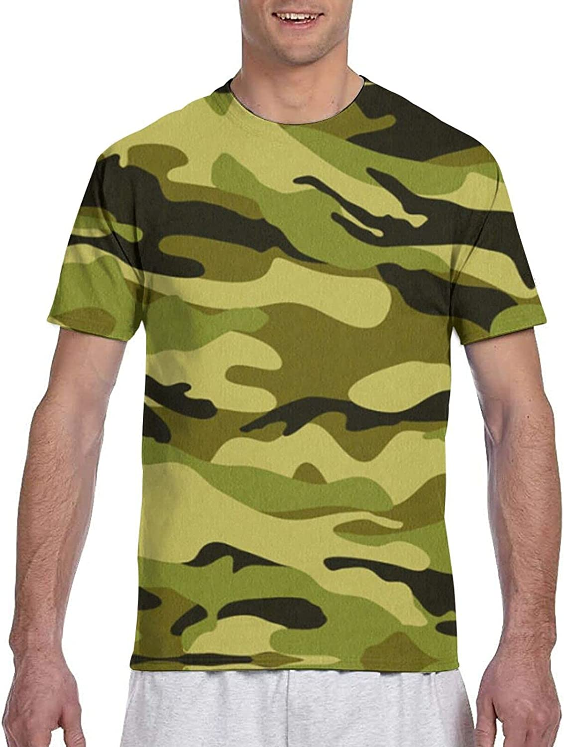 JHCD T-Shirts,3D Printed T-Shirt,Mens Shirts, Suitable for Adult Men Shirt Short Sleeve Casual Blouse
