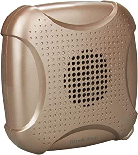GLJJQMY Wireless Bluetooth Speaker Gold Computer Phone Small Sound Bass Mobile Phone Portable Audio Amplifier