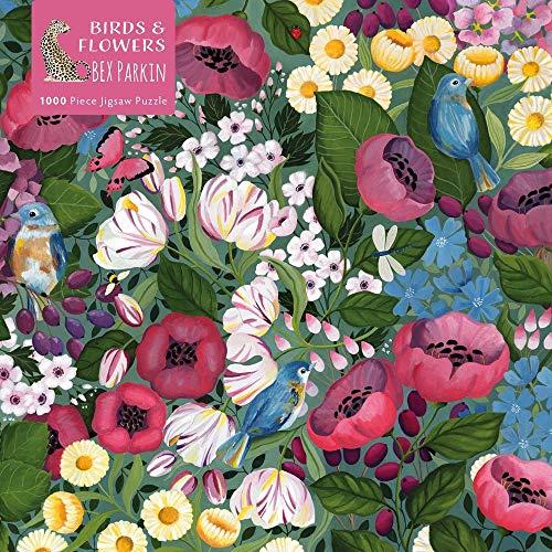 Adult Jigsaw Puzzle Bex Parkin: Birds & Flowers: 1000-Piece Jigsaw Puzzles