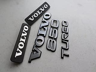 Volvo 850 Turbo 94-97 Side Door Fender 20244 Rear Trunk Emblem Logo Badge Set of 5 Decals