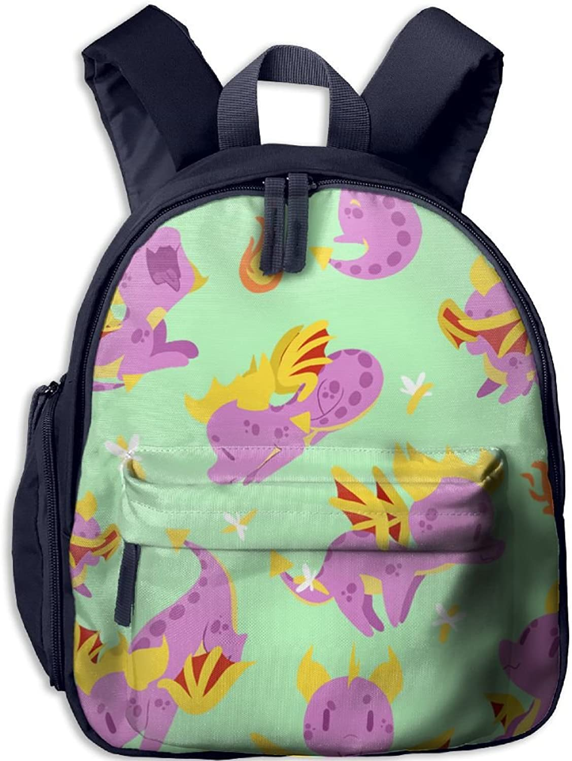 Pinta Young Dinosaurs Cub Cool School Book Bag Backpacks for Girl's Boy's