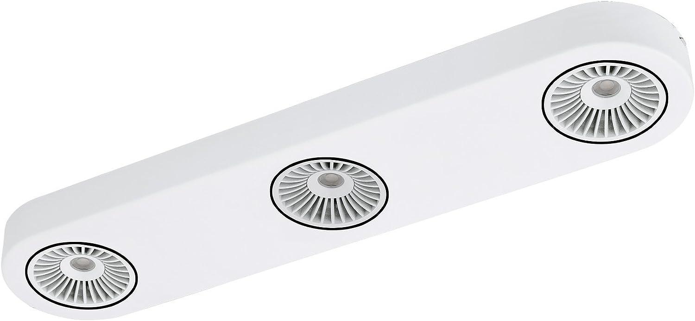 EGLO MONTALE Spot, Stahl, Integriert, 5.4 W, weiss, schwarz