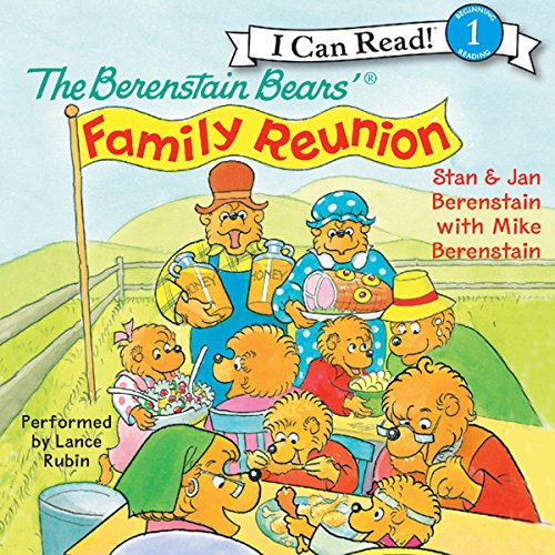 The Berenstain Bears' Family Reunion audiobook cover art
