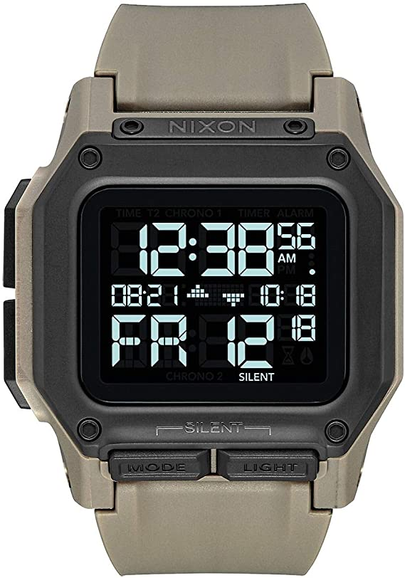 Nixon Unisex Adult Digital Watch with Polycarbonate Strap A1180-2711-00