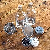 W&P The Homemade Gin Kit DIY Vodka Juniper 375ml Bottle Infuser Bar