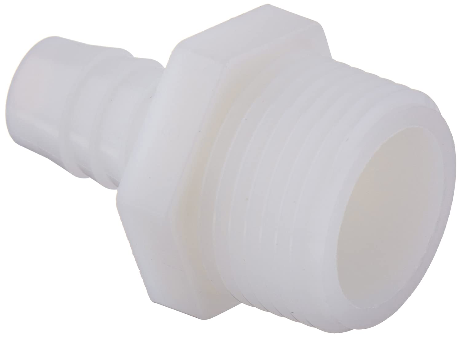White Nylon 90 Degree Angle Pack of 20 Parker Hannifin 329HB-3-2N-pk20 Par-Barb Male Elbow Fitting 3//16 Hose Barb x 1//8 Male NPT