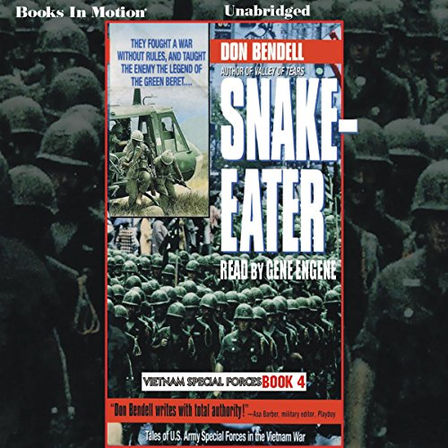 Snake-Eater audiobook cover art