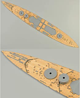 ANTAMS Wooden Deck For Tamiya 78011 1:350 Scale British HMS Prince Of Wales Model With Anchor Chain New tool accessories