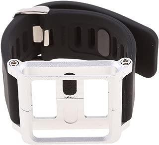 Baoblaze 1 Pieza de Correa Recambios Multi Tàctil Compatible con iPod Nano Sexta Generación Reloj Inteligente - Plata