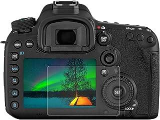 Anti-Huellas 2 Unidades BROTECT Protector Pantalla Compatible con Canon EOS 750D Protector Transparente