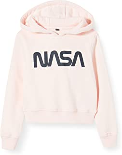 Mister Tee Kids NASA Cropped Hoody Capucha para Niñas