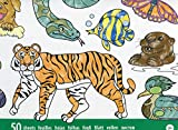 Melissa & Doug Jumbo Colouring Pad - Animals | Activity Pad | Coloring Pads | 3+ | Gift for Boy or Girl