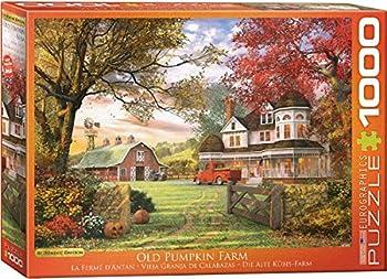 EuroGraphics 1000-Pieces Old Pumpkin Farm Jigsaw Puzzle