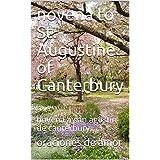 novena to St. Augustine of Canterbury:  novena a san agustin de canterbury (Spanish Edition)