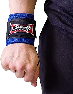 Sling Shot Wrist Wraps by Mark Bell, IPF Approved - 1 Pair