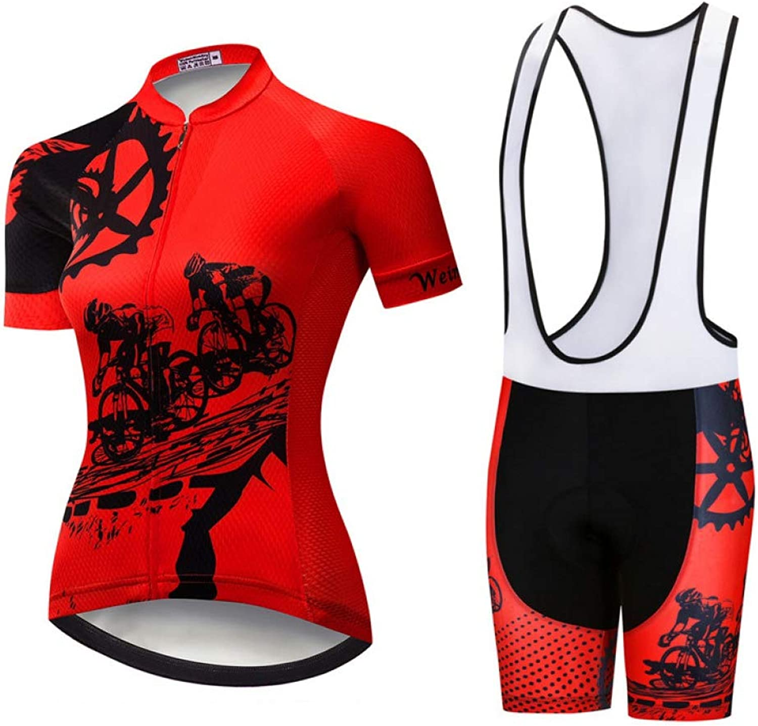 Rzxkad Cycling Clothing Women Summer Short Sleeve Cycling Jersey Set Pro Team Bike Clothing Uniform Bicycle Wear