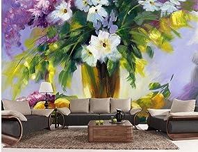 Mural wallpaper Wallpaper Modern 3D Bathroom 3D Wallpaper Floral Still Life Paintings Tv Backdrop Living 3D Wallpaper for ...