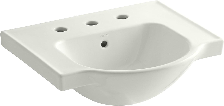 Kohler 5247-8-Ny Veer Widespread Sink Basin, 21-Inch, Dune