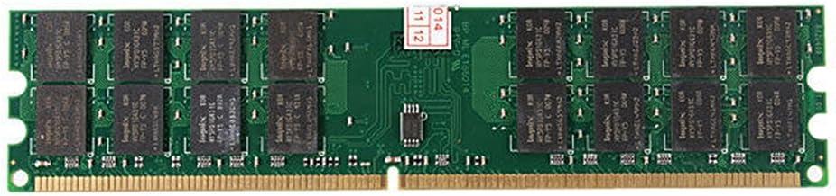 Tuneway Nuevo 4GB Memoria RAM DDR2 800MHZ PC2-6400 240 Pines Tarjeta Madre de DIMM para de computadora de Escritorio