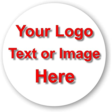 Vinyl Custom Printed Round Stickers Logo labels Personalised Art Text Durable