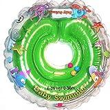 Baby Flotador Tüv GS Cuello Anillo de Natación (Talla 6–36kg (0–36Meses) Flotador para bebé de Natación Anillo de Baño Ayuda schwi mmtra Iner en Verde