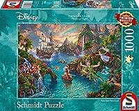 トーマスキンケード ディスニー ピーターパン パズル 1000ピース Thomas Kinkade, Disney - Peter Pan, 1.000 piece ディスニーパズル ジグゾーパズル おうち時間 [並行輸入品]