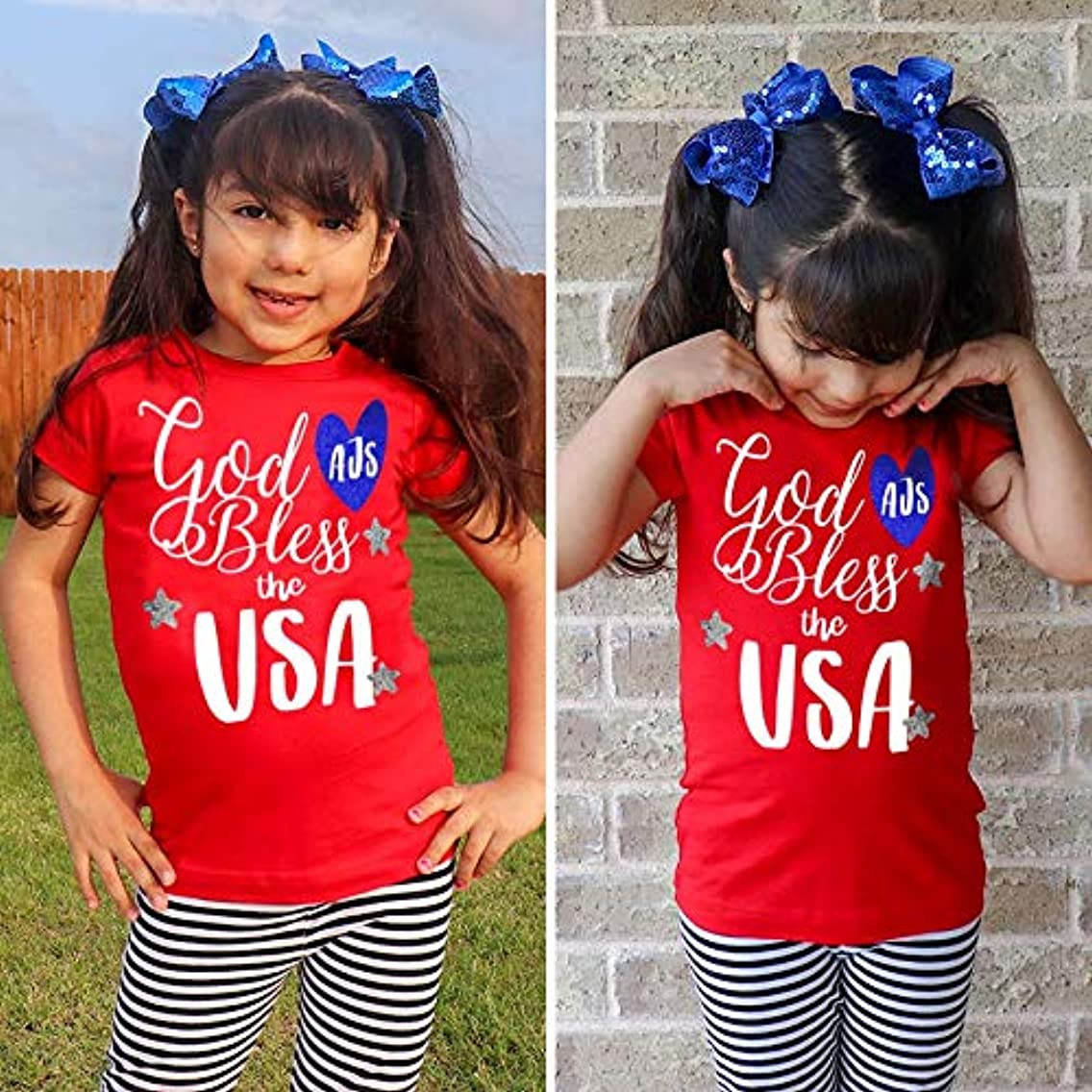 Good Bless the USA Shirt / 4th of July Shirt / 4th of July Outfit / 4th of July dress/cool 4th of july shirts/toddler shirts for 4th of july / 4th of just t-shirts / 4th of july shirts for girls