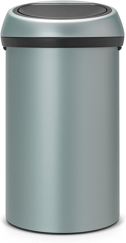Touch bin 60 L   Metallic mint B00PUD9PUI