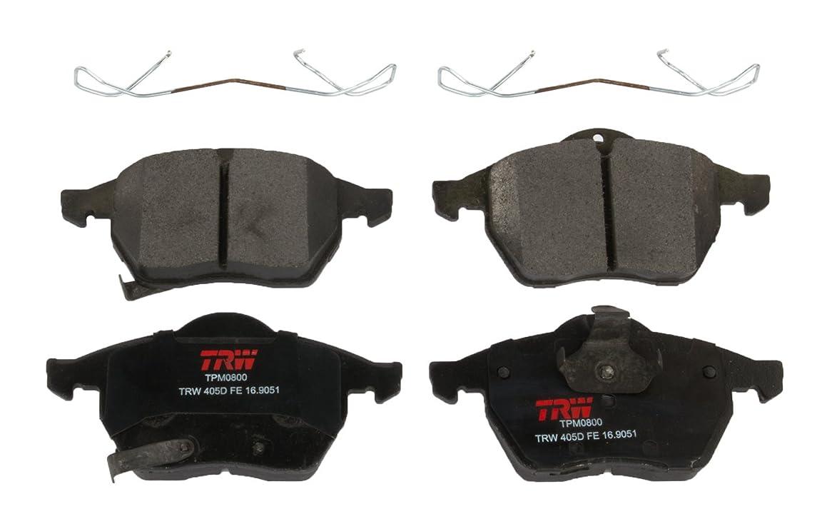 TRW TPM0800 Premium Front Disc Brake Pad Set