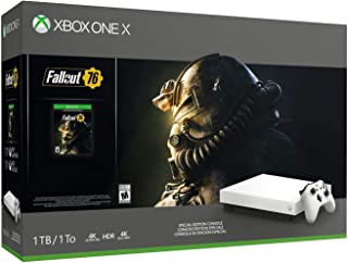 Microsoft Xbox One X Fallout 76 White Special Edition 1TB - Xbox One