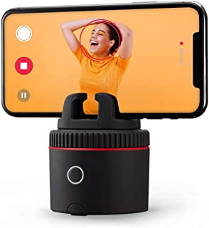 Pod Red - Auto Tracking 360 Hands-Free Photos & Videos - Stream Live - Video Calls - 12 Special Effects - Smart Cameraman ...